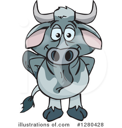 Brahman Bull Clipart #1280428.