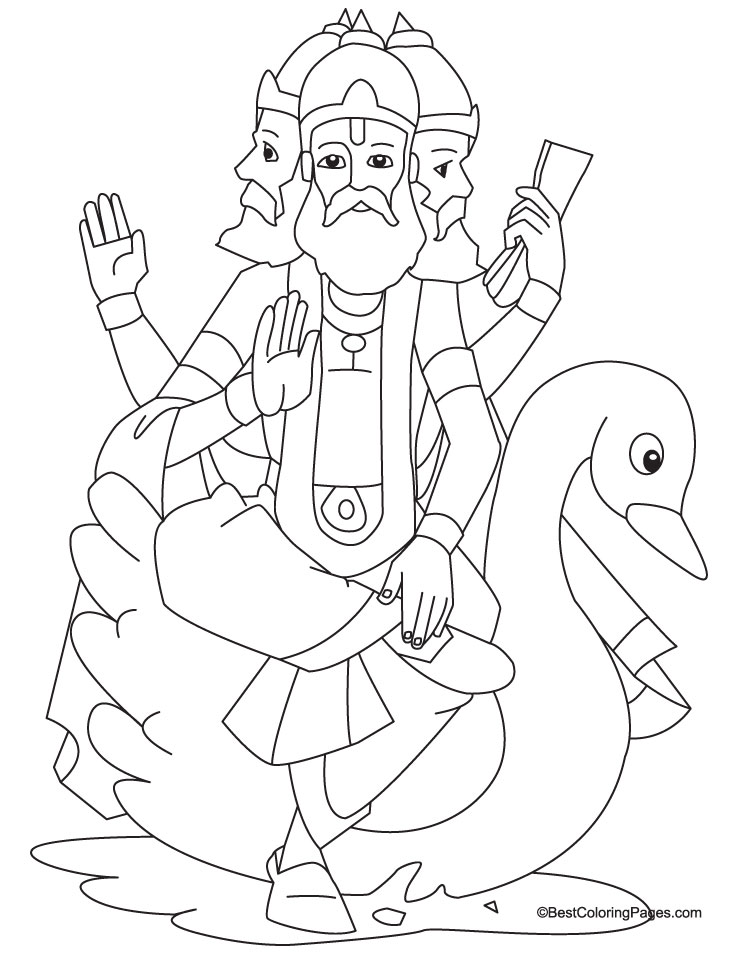 Brahma Coloring Page coloring page, coloring image, clipart images..