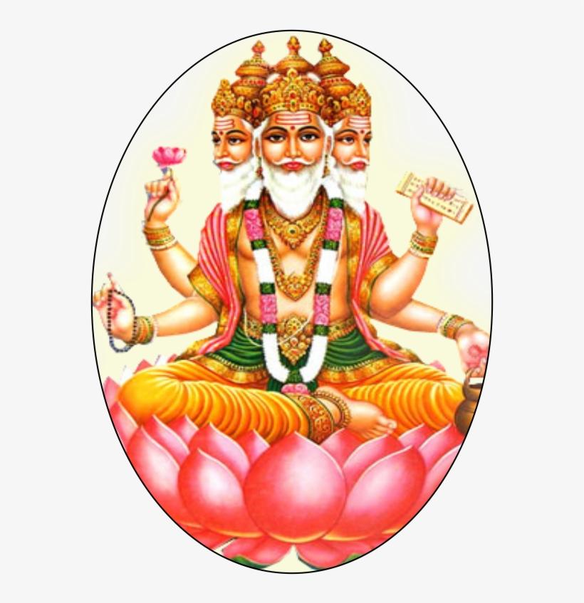 Lord Brahma.