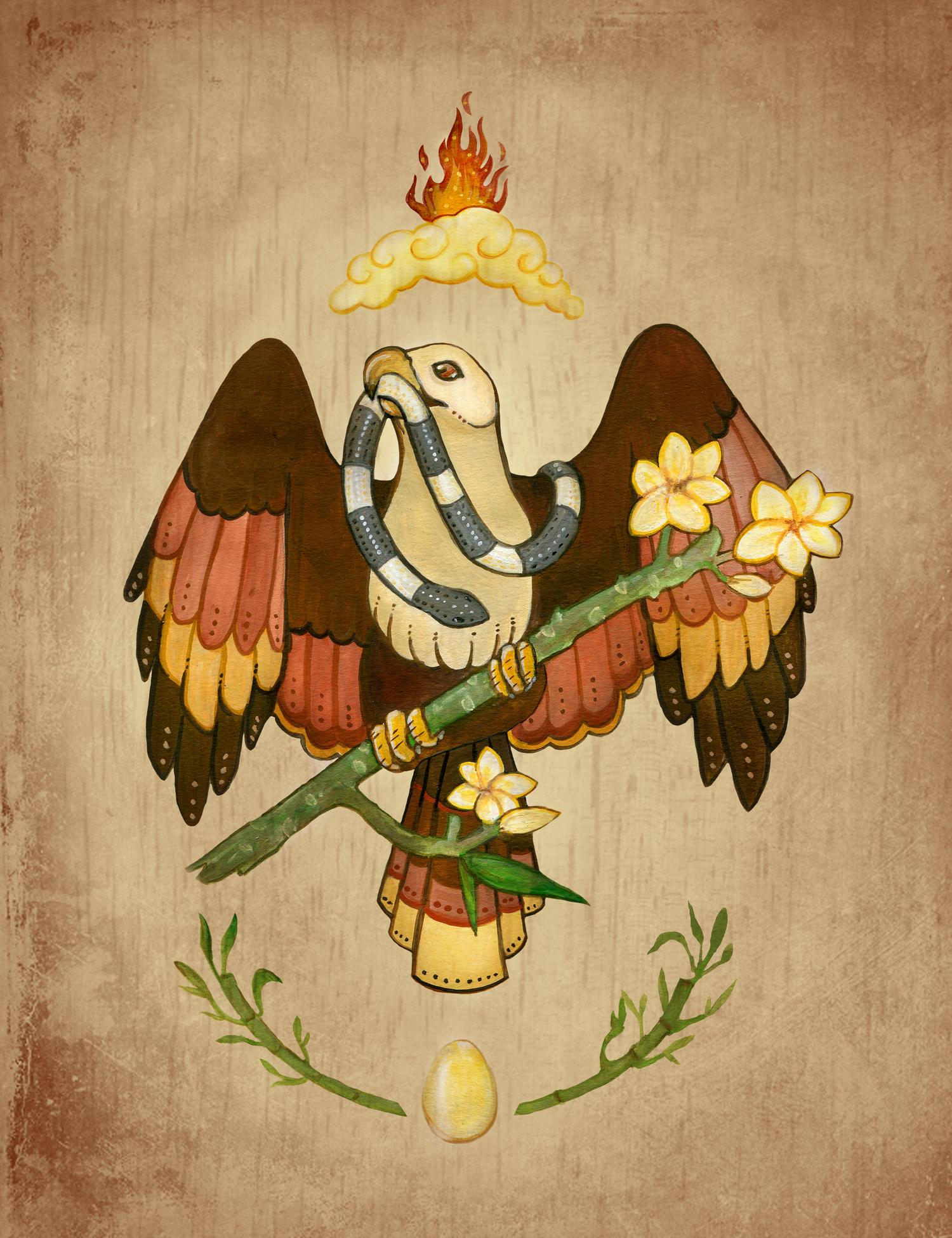 Brahminy Kite — Monica McClain.