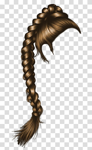 Braid Hair PNG clipart images free download.