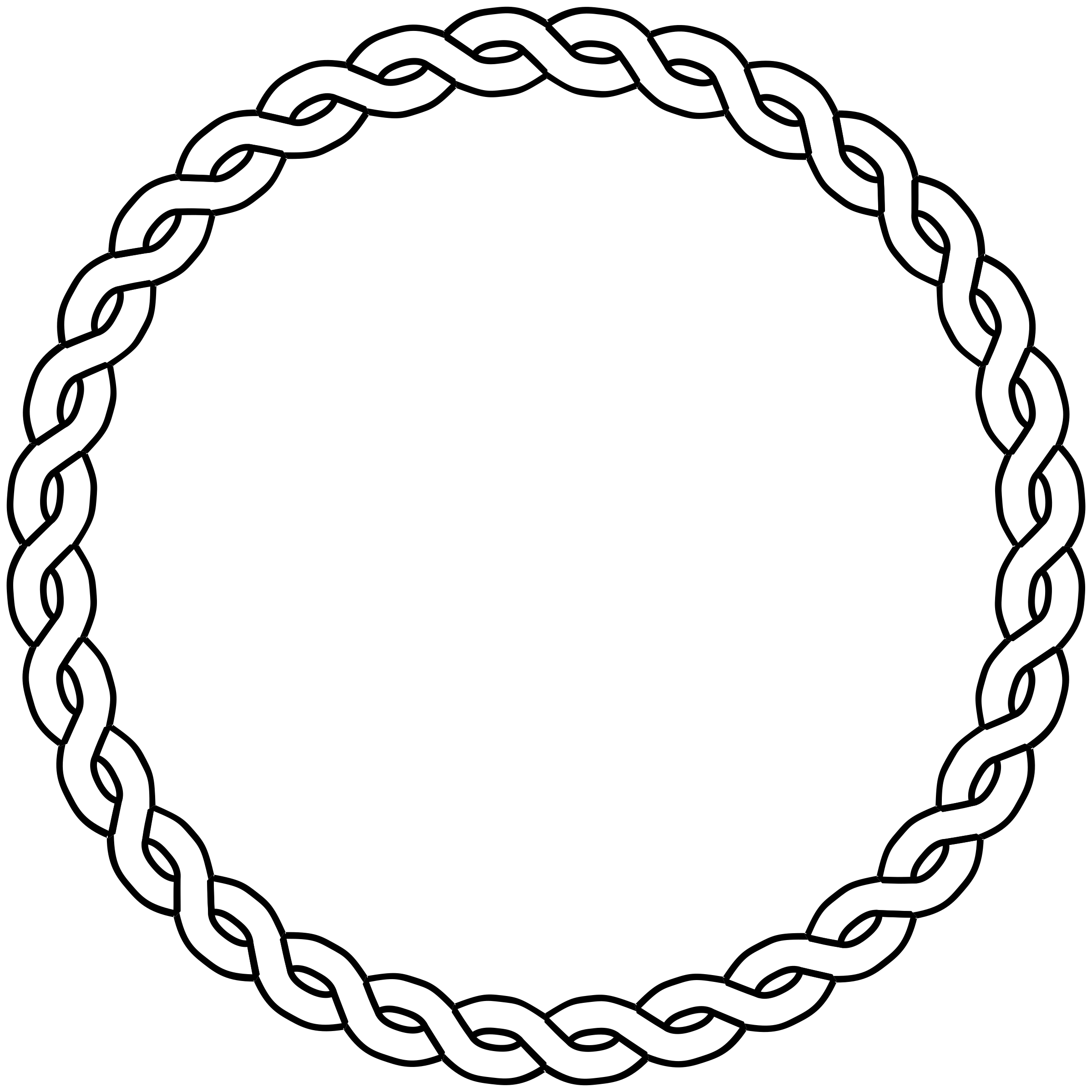 Clipart circle braided, Clipart circle braided Transparent.