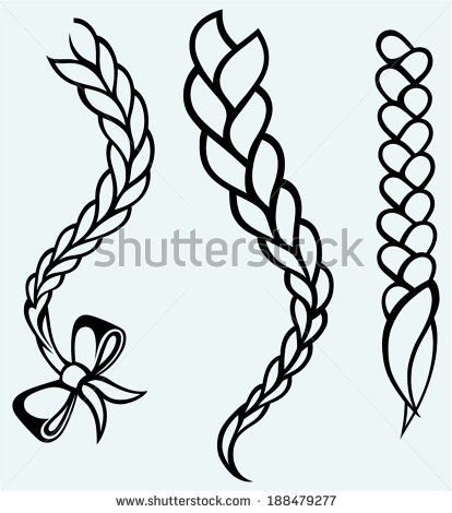 Braid Clipart.