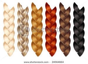Free Clipart Image: A Set of Braids.