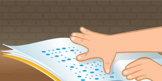 Braille Stock Illustrations.