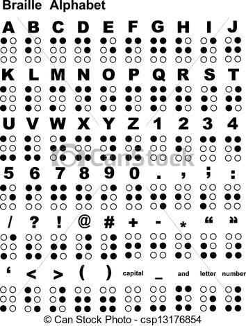 Braille Illustrations and Clip Art. 238 Braille royalty free.