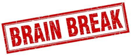 808 Brain Break Stock Vector Illustration And Royalty Free Brain.