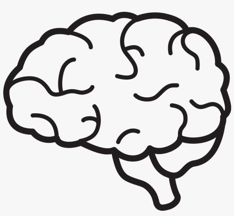 Download Free png Brain Icon Png Brain Clipart Black And White Png.