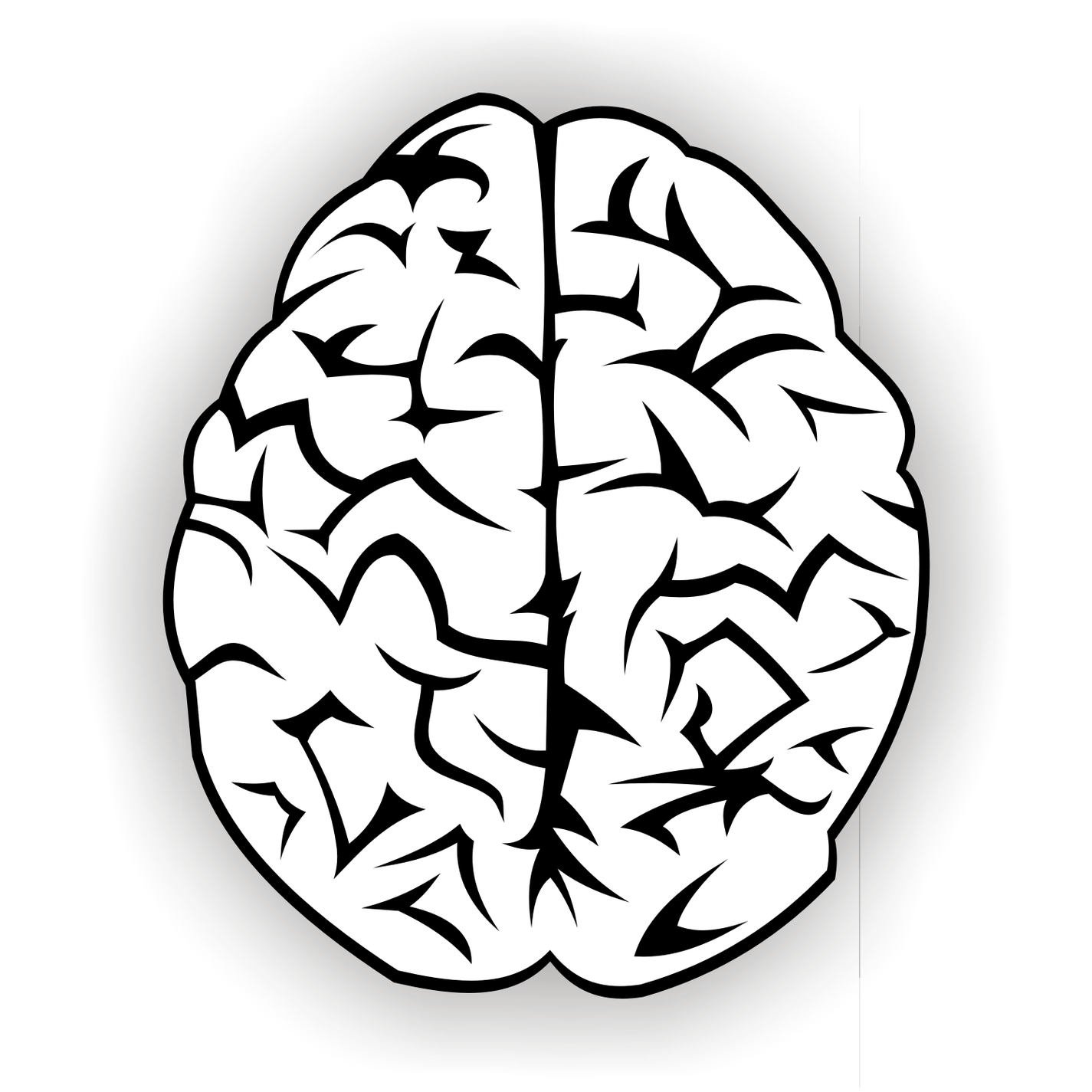 Drawing of brain clipart free to use clip art resource.