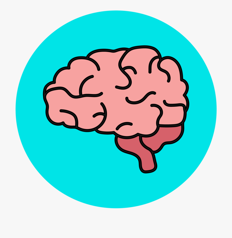 Cartoon Brain Clip Art.