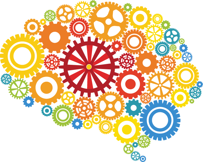 Human brain Gear Clip art.