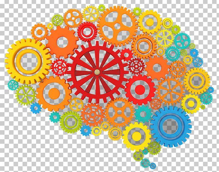 Brain Gear Human Head PNG, Clipart, Area, Art, Brain, Circle.