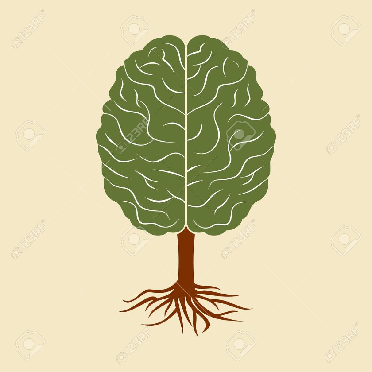 2,714 Brain Tree Stock Illustrations, Cliparts And Royalty Free.