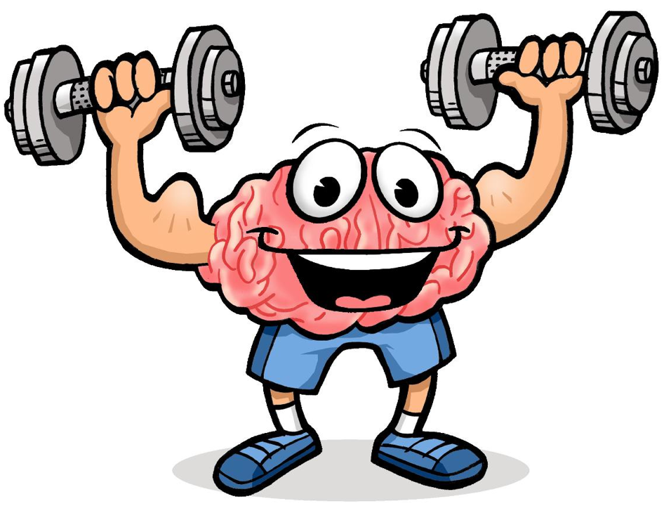 Brain Exercise Cliparts.