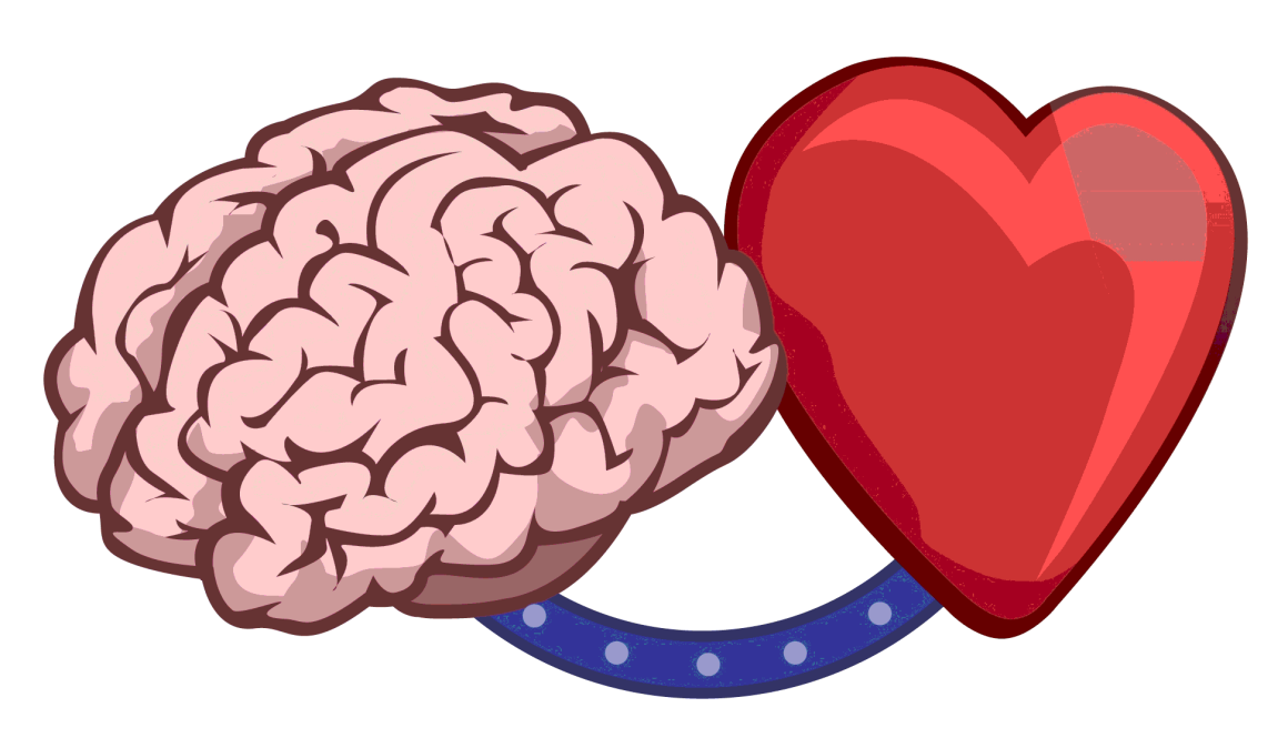 Clipart brain heart, Clipart brain heart Transparent FREE.