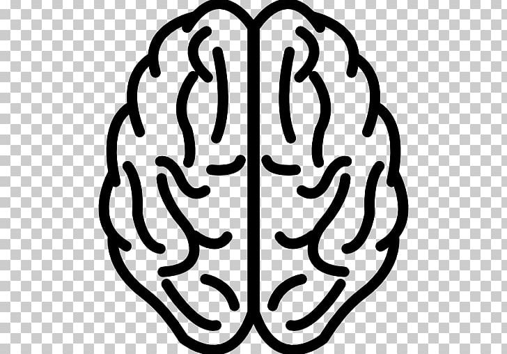 Human Brain Logo PNG, Clipart, Artwork, Black And White.