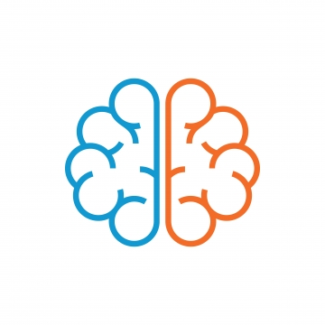 Brain Logo PNG Images.