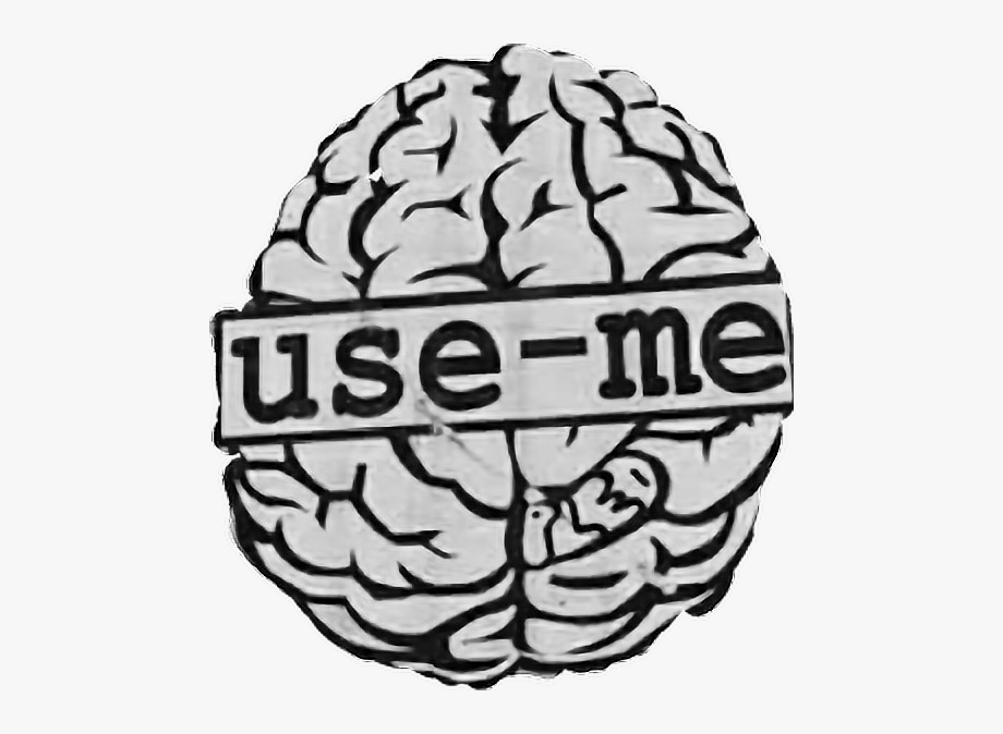 Brain Sticker.