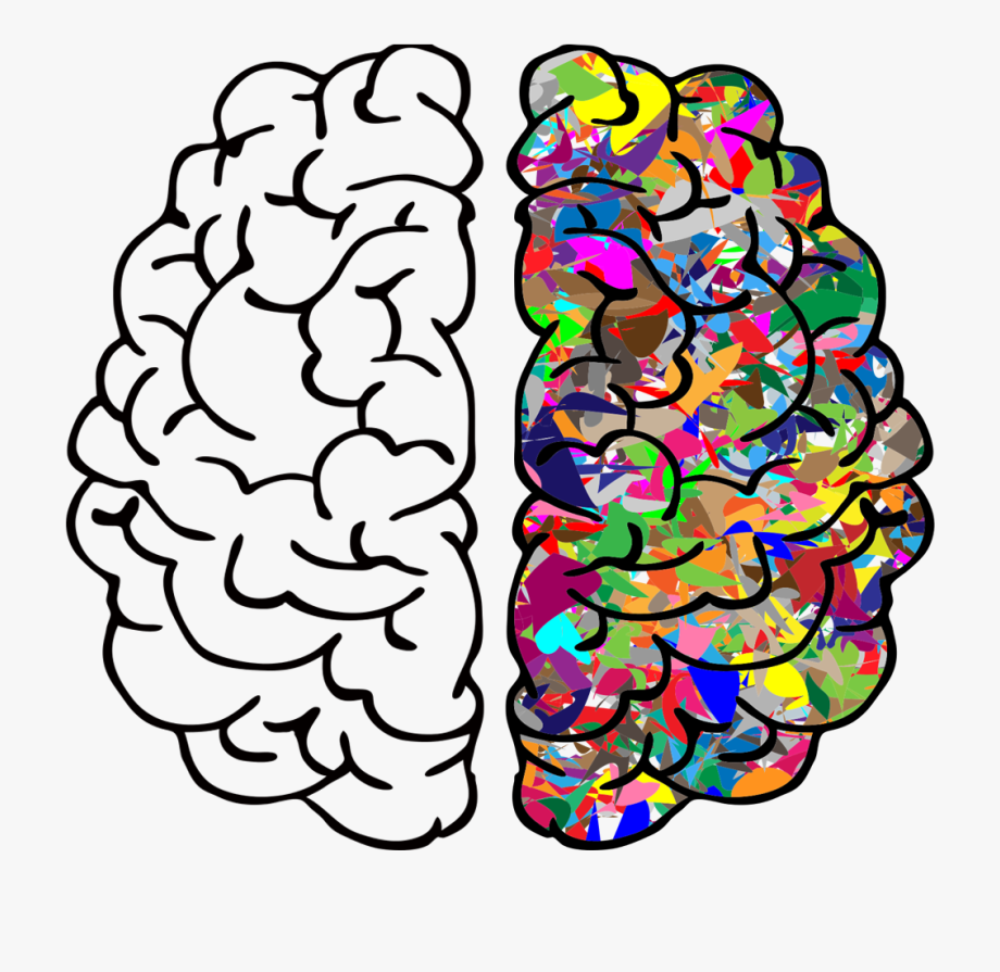 Brain Background For Powerpoint Clipart , Png Download.