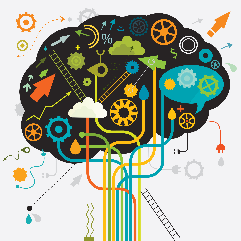 Brain Power Cliparts 13.
