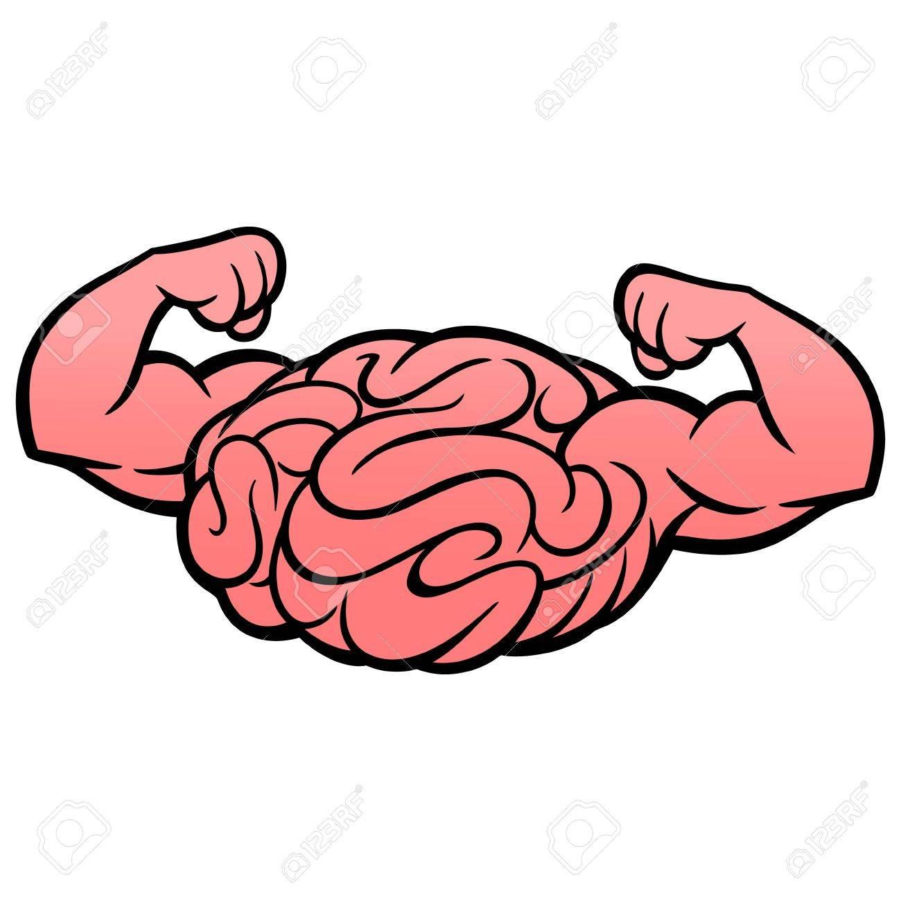 Brain Power Icon.