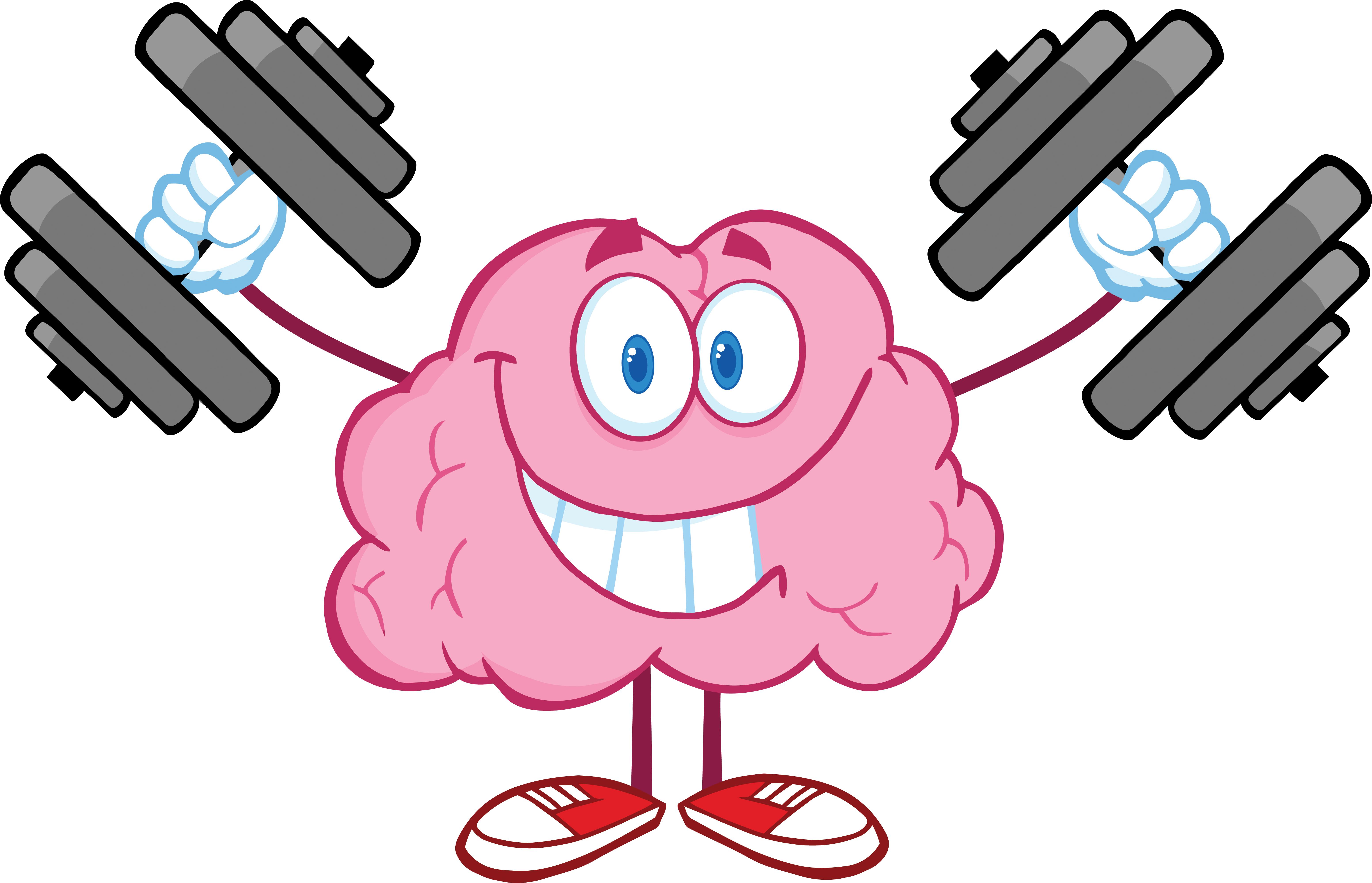 Brain Power Clipart.