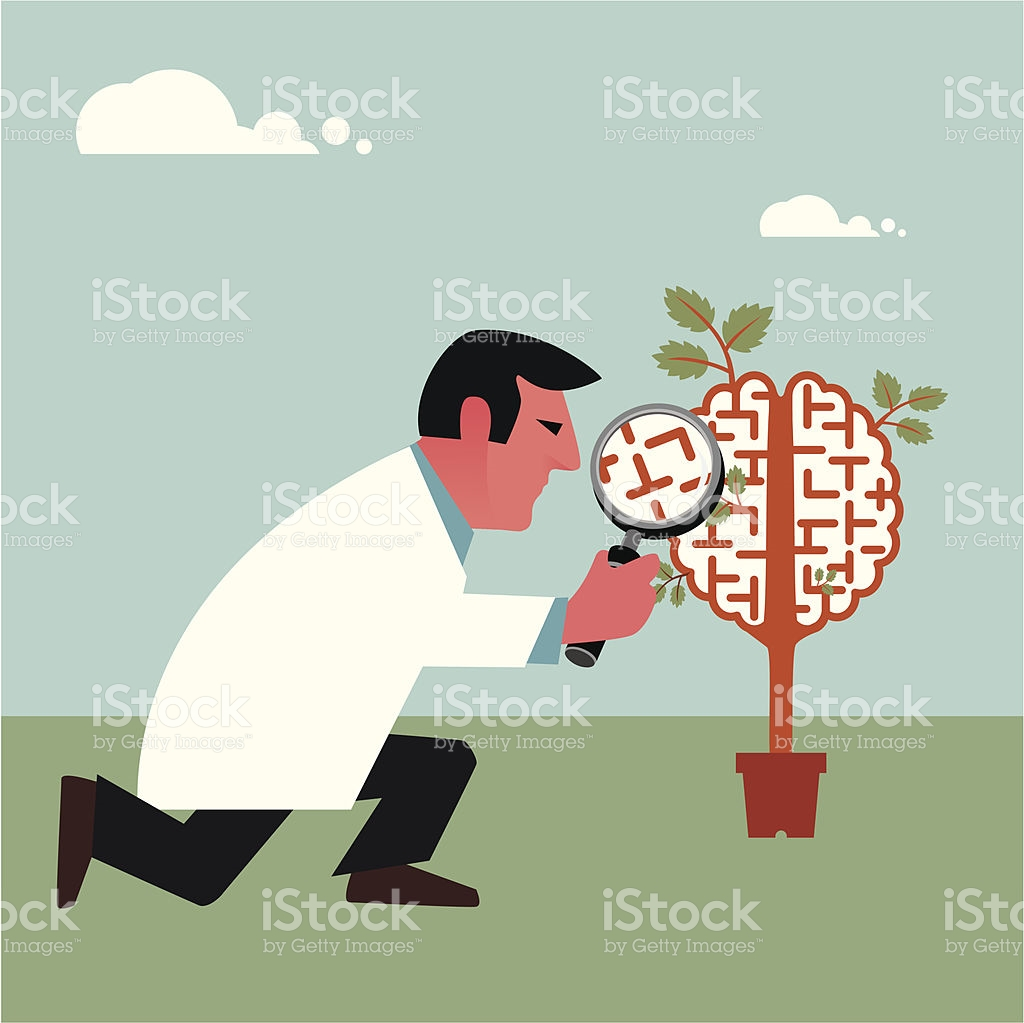 Brain Research stock vector art 165797326.