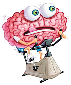 Brain work clipart.