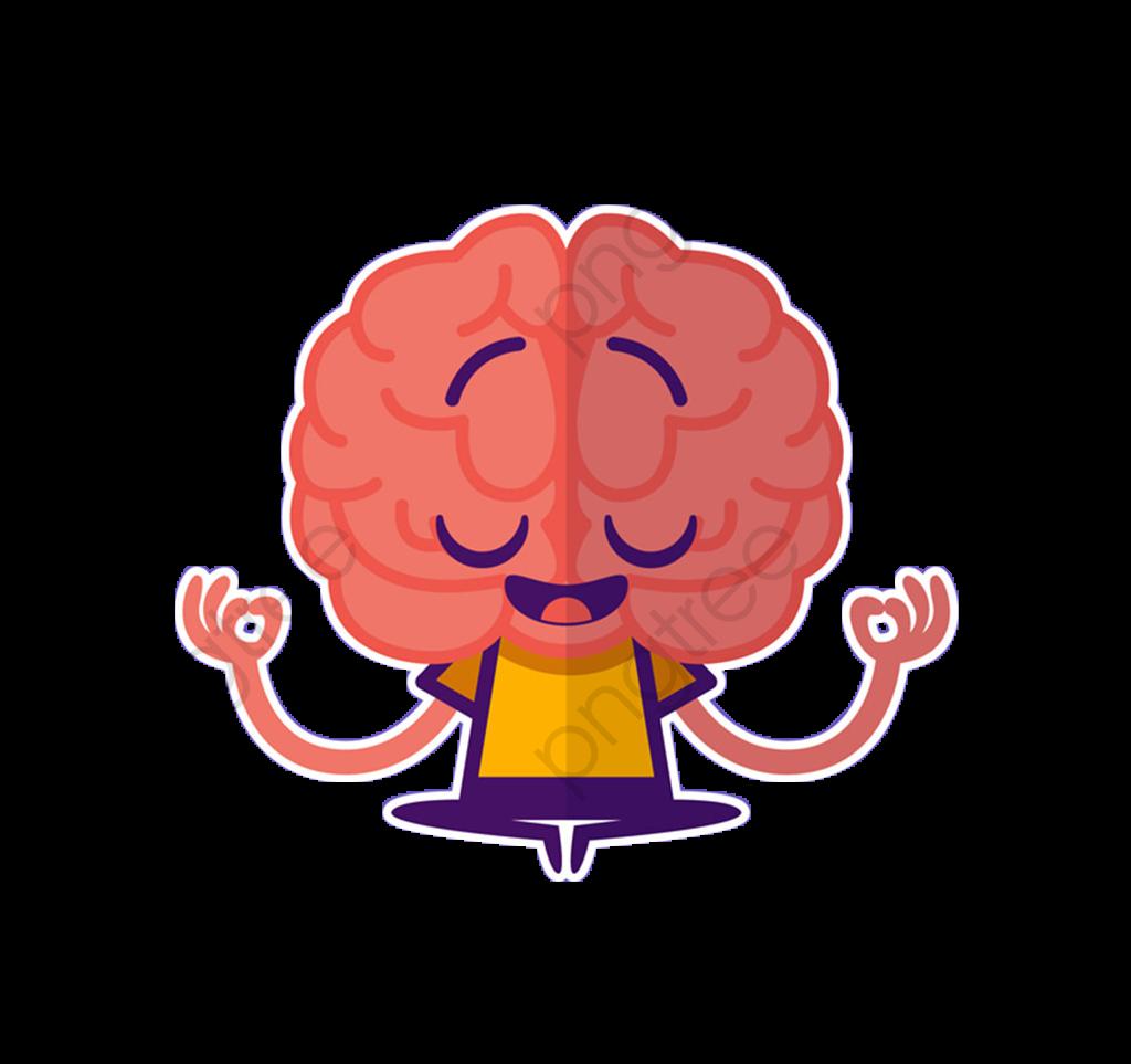 Thinking Brain, Thinking Clipart, Brain Clipart, Brain PNG.