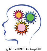 Thinking Brain Clip Art.