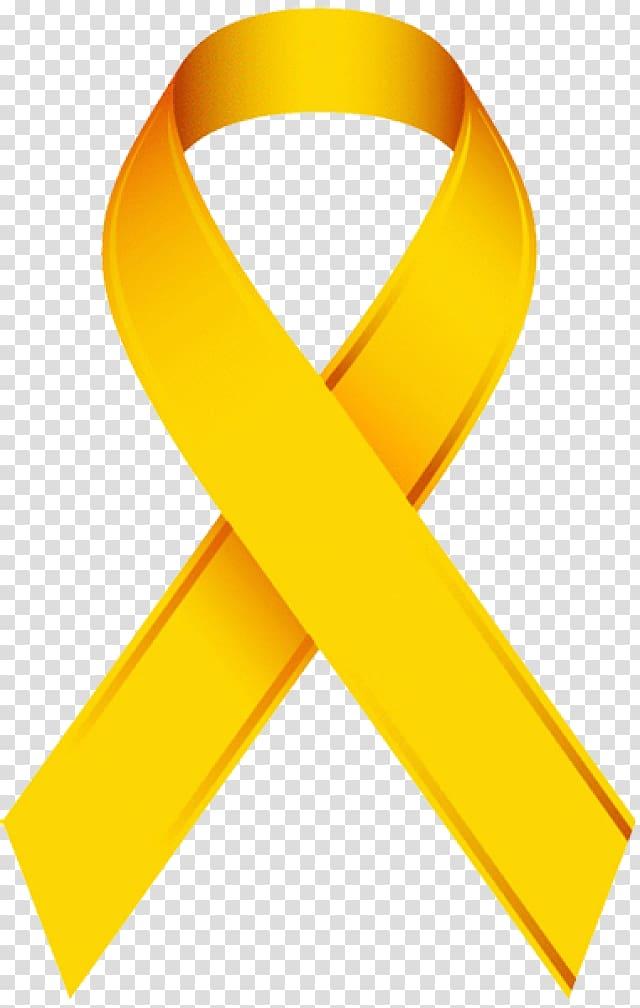 Childhood cancer Awareness ribbon, Tumor transparent background PNG.