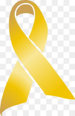 Awareness ribbon Childhood cancer T.