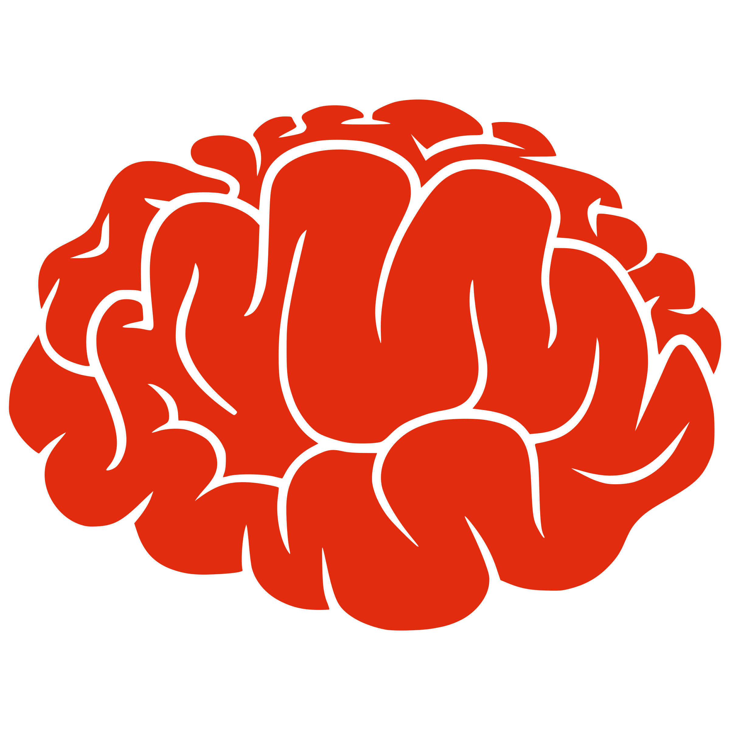 Brain Clip Art Animation.