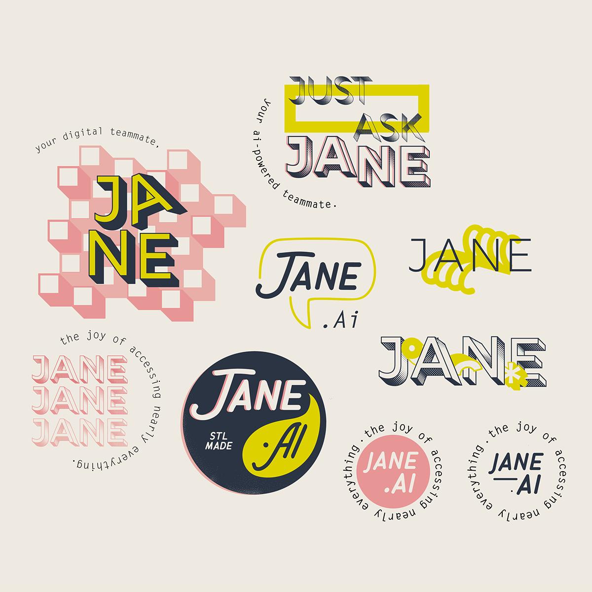 logo brainstorm on Behance.
