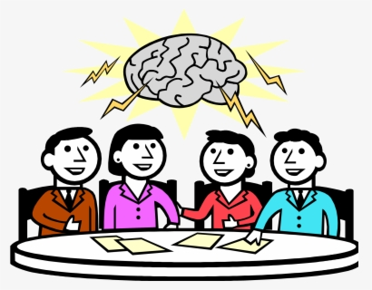 Free Brainstorm Clip Art with No Background.