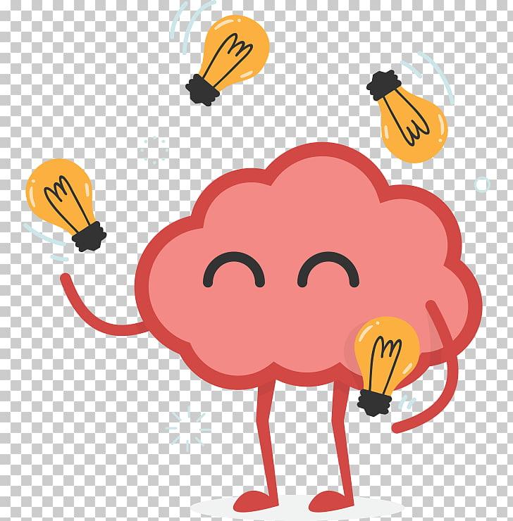 Brainstorming Creativity , Brain PNG clipart.