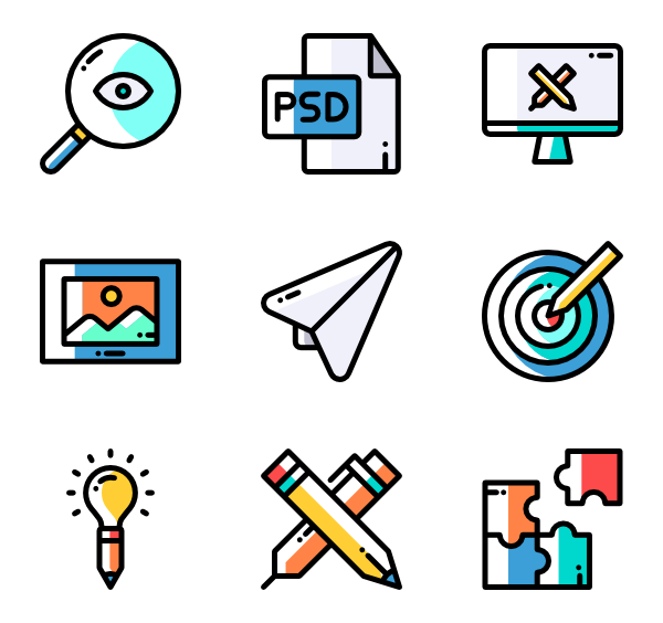 Brainstorming Icons.