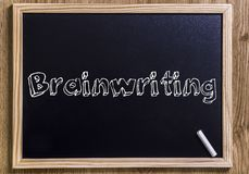Brainwriting Stock Illustrations.