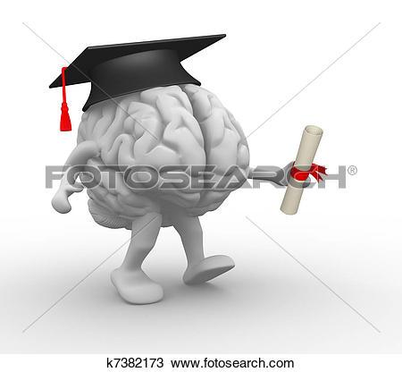 Brainy Clip Art and Stock Illustrations. 980 brainy EPS.