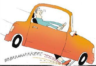 Brake clipart #3