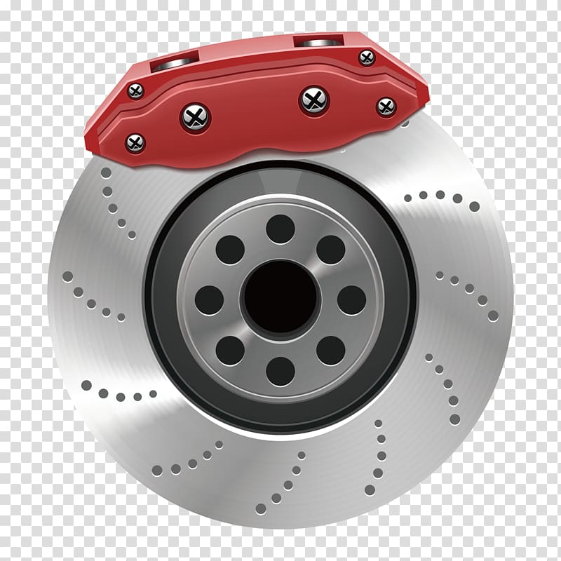 Car , Auto configuration brake discs transparent background.