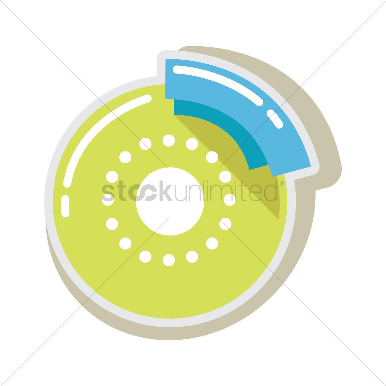 Brake pad and disk Vector Image.