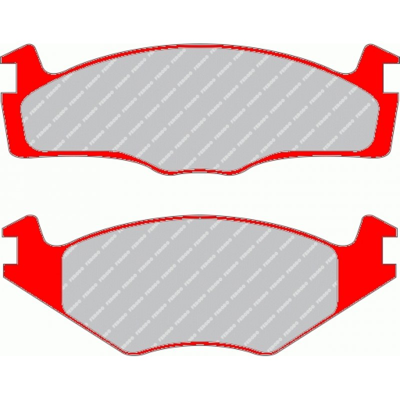 Brake Pads (set), Ferodo DS Performance sport brake pads, e.g. for VW.