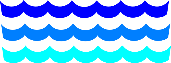 Wave Outline Clipart.