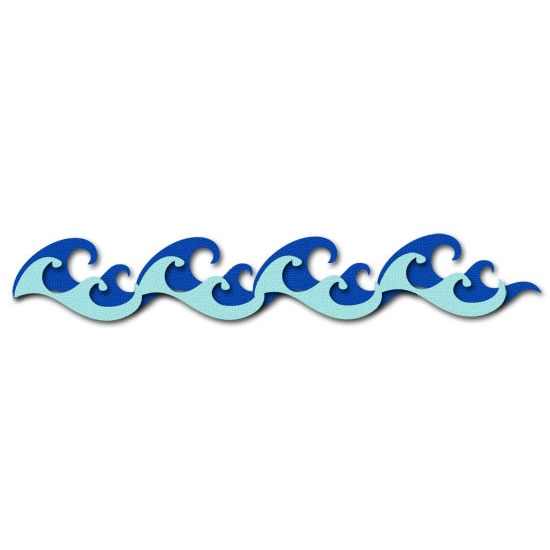 Wave Drawing Clipart.
