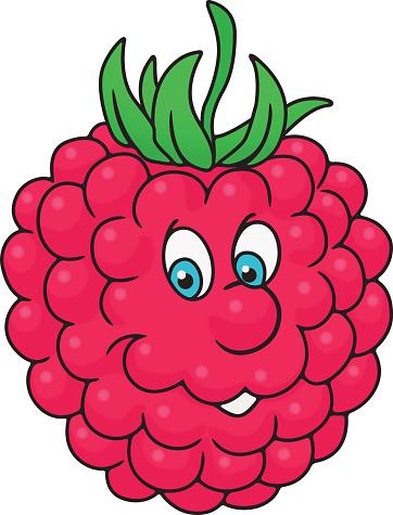Brambleberry Fruit Cartoons Clip Art, Vector Images.