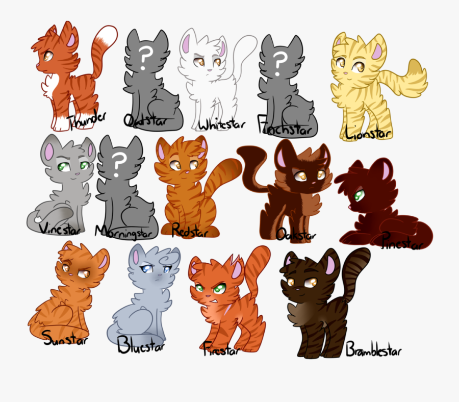 Warriors Leaders Of Thunderclan.