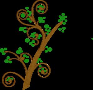 Jungle tree branch clipart.