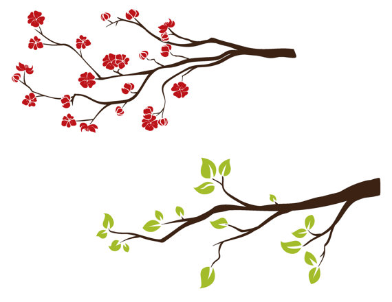 5918 Branch free clipart.