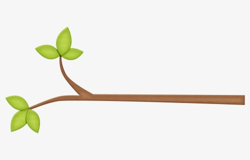 Free Fall Tree Branch Clip Art with No Background.